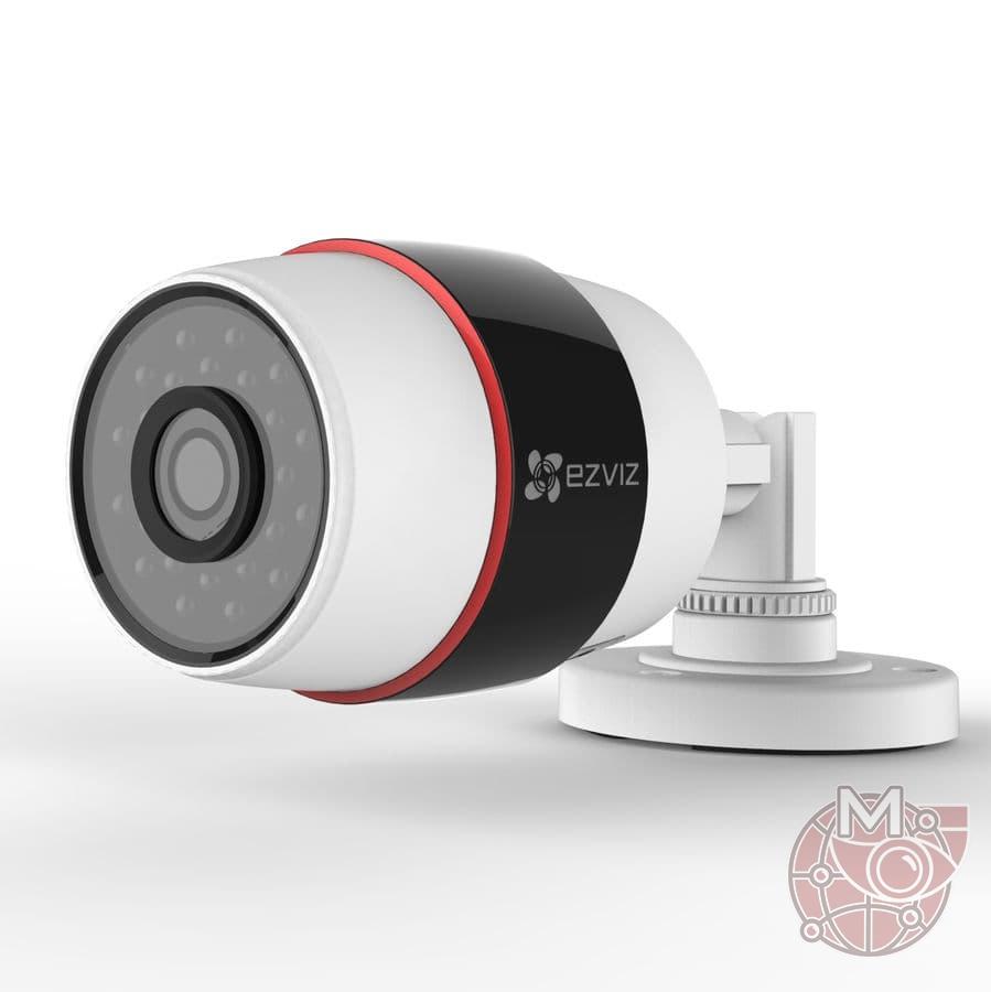 Уличная WiFi IP камера 2 Мп C3S (CS-CV210-A0-52WFR) для дома и офиса