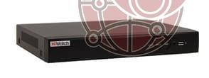 8 канальный гибридный видеорегистратор DS-H208UP для 5 Мп камер