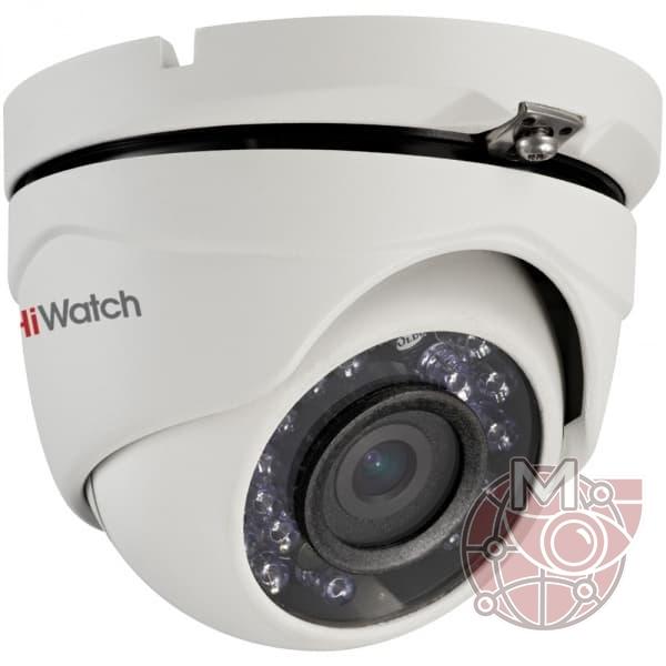 Купольная видеокамера 2 МП DS-T203P в металлическом корпусе