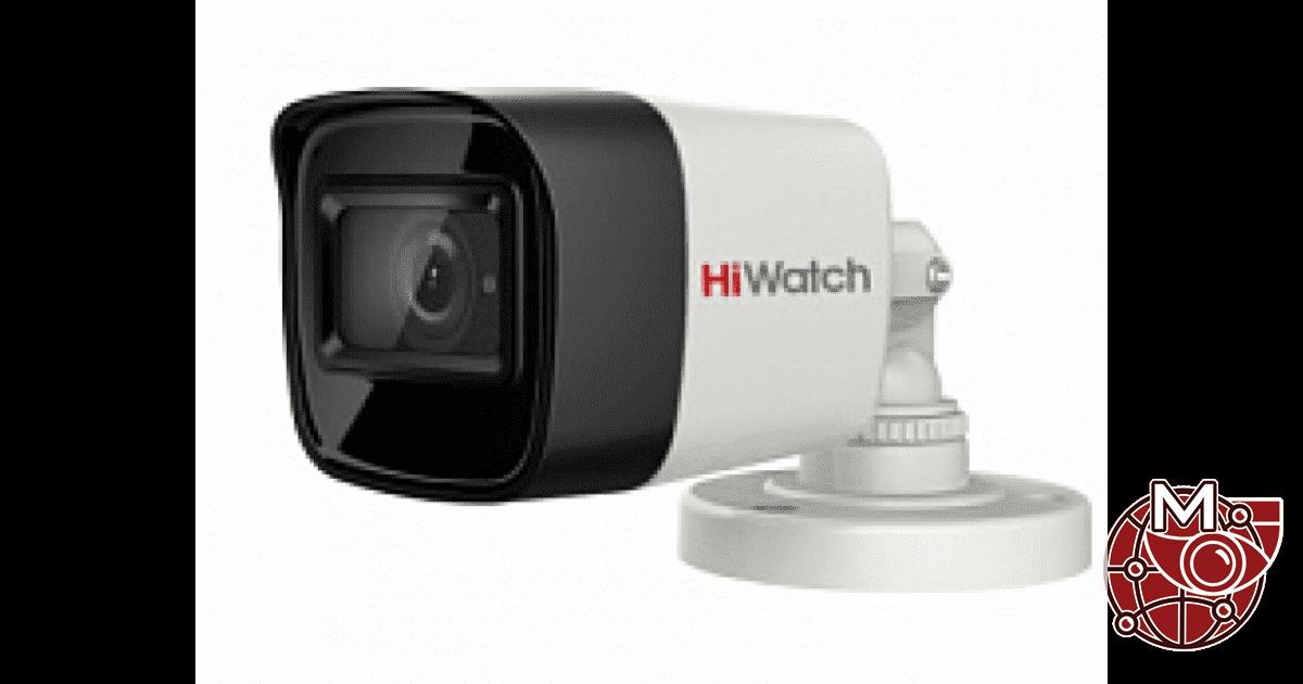 Уличная камера 2 МП DS-T280B с HD-TVI/HD-CVI/AHD/CVBS и ИК подсветкой до 30 м.