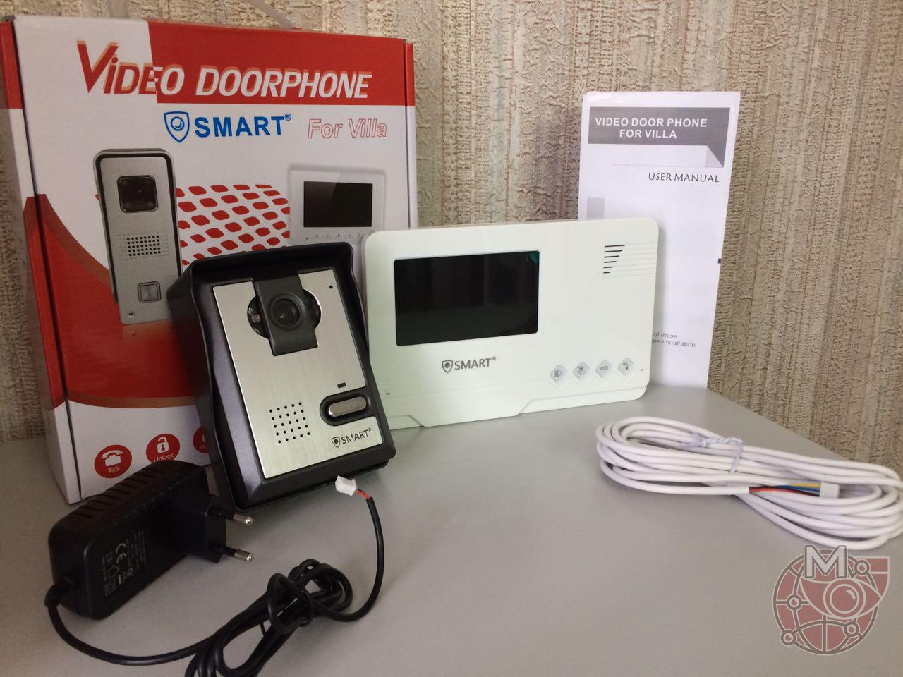 Видеодомофон SMART экономичное решение