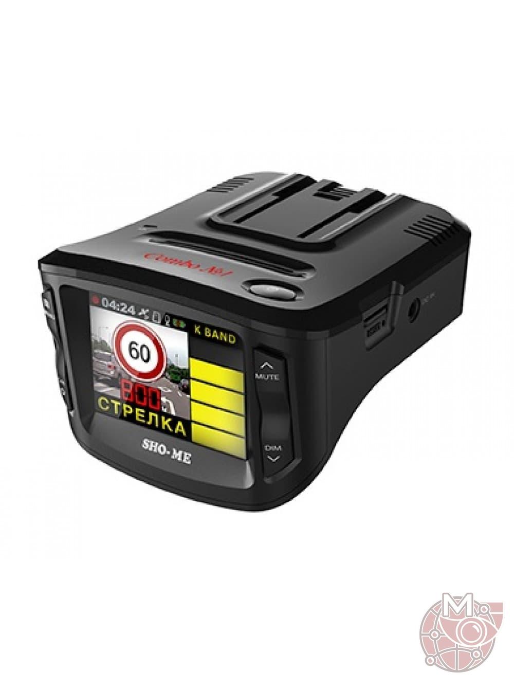 Автомобильный видеорегистратор + антирадар SHO-ME Combo №5 A12
