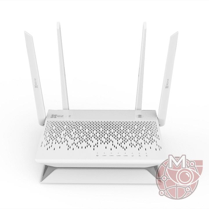 8 канальный WiFi регистратор X3C (CS-X3C-8E) и роутер